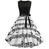 Kleider Damen Neckholder Rockabilly 50er Retro Petticoat Faltenrock Ballkleid...